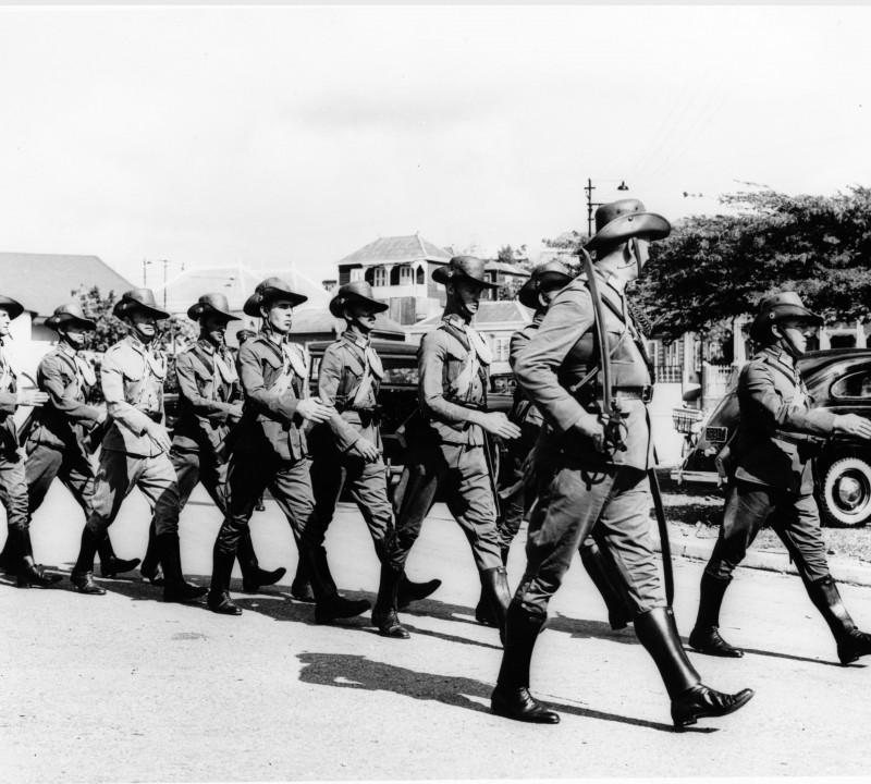 de oorlog op Curacao in 100 foto's