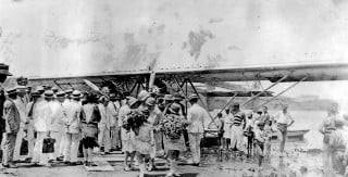 Charles Lindbergh op Curacao