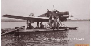 1ste vliegtuig op Curacao