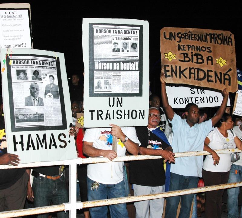 Protesten rond Toetsings RTC
